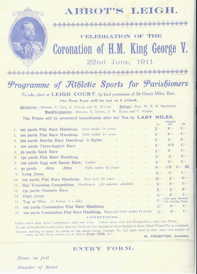 Coronation of HM King George V
